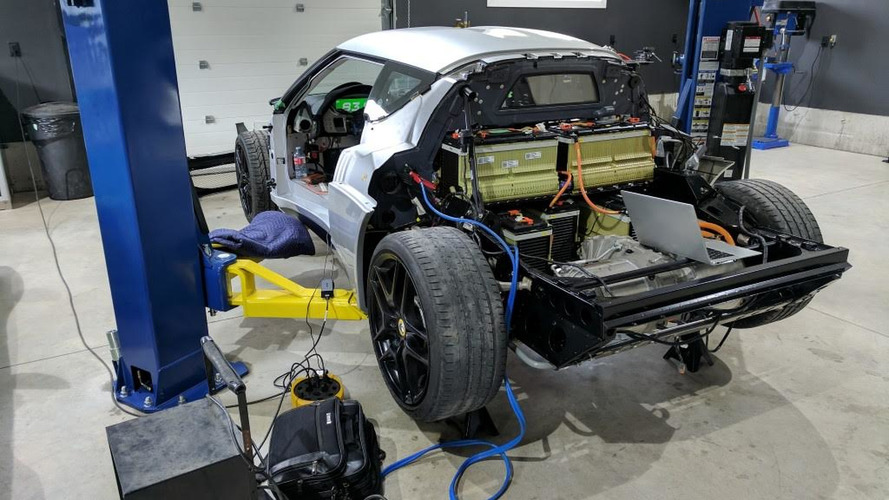 EV Lotus Evora Project With Tesla Electric Motor Is Progressing