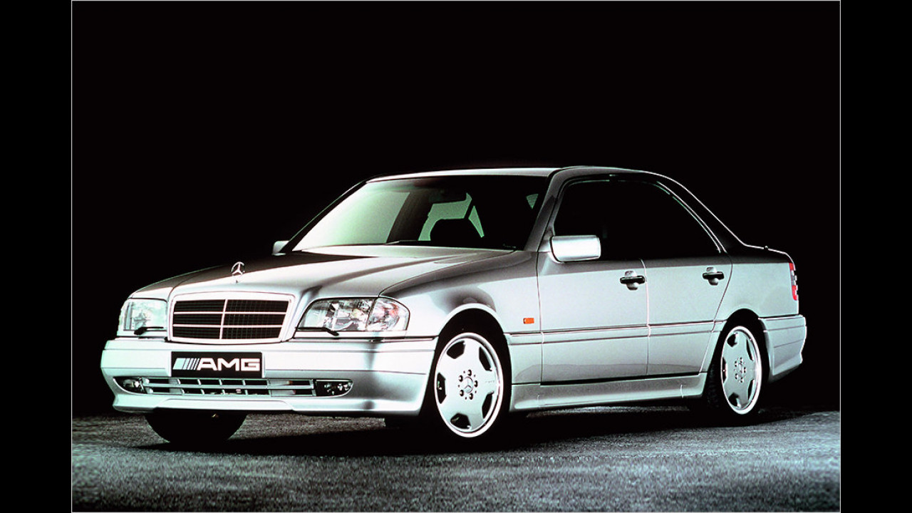 1993: Mercedes C 36 AMG