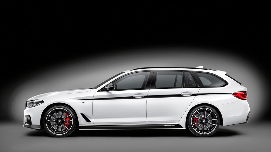 BMW 5 Series Touring given M Performance treatment in Geneva