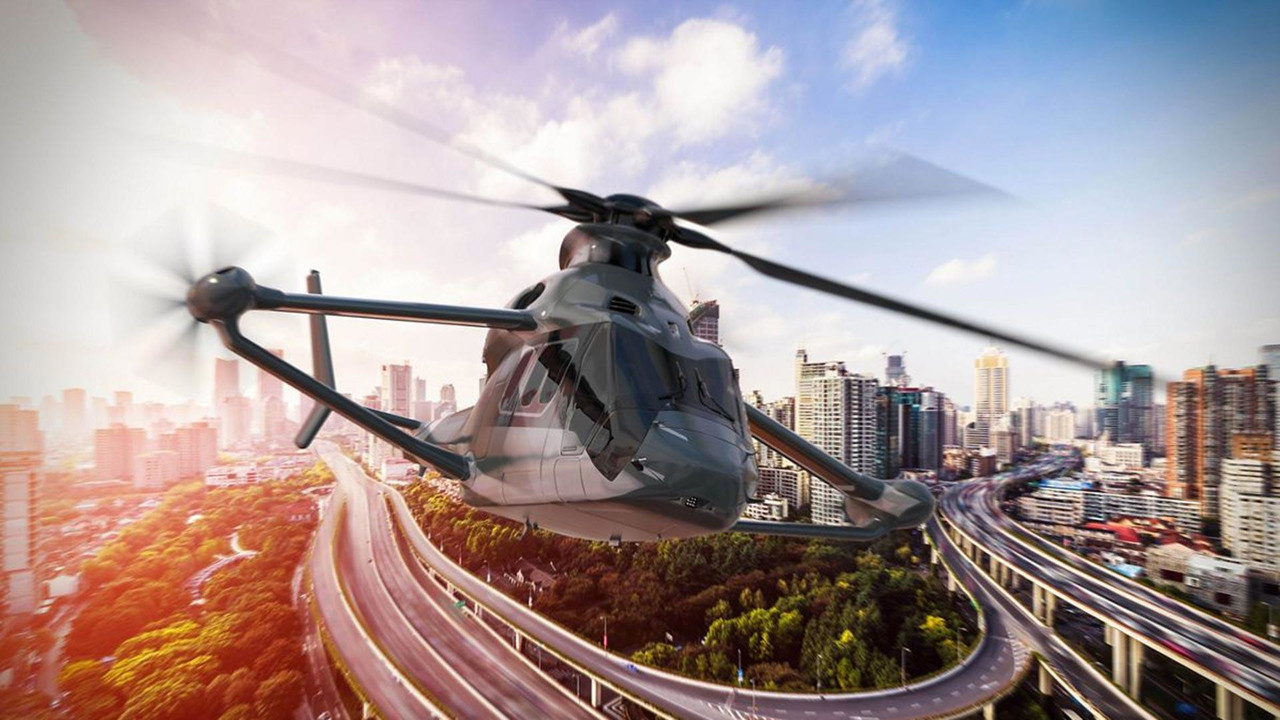 Airbus Racer Helicopter