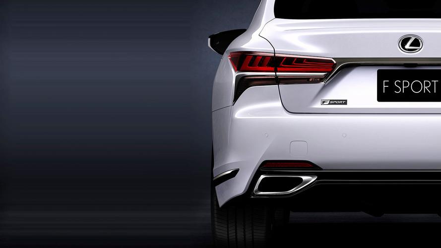 Lexus LS 500 F Sport To Get Global Debut In New York