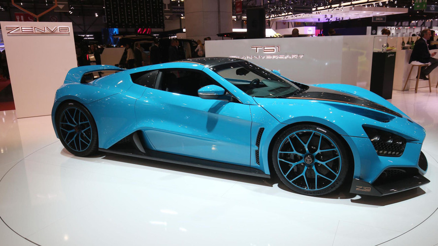 Zenvo TS1 GT has 1,163 hp, costs $1.2 million... and is very blue