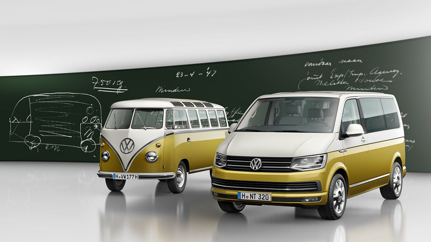 VW Multivan special edition celebrates Bulli's 70th anniversary