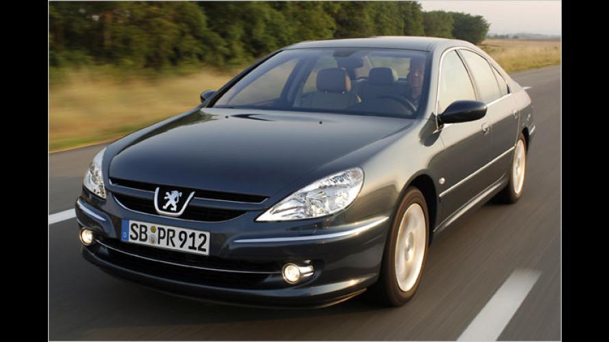 Peugeot 607: Nur noch als Diesel und mit Vollausstattung