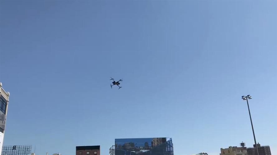 Drone Beats Formula E Car In Drag Race, Celebrates With Big Crash