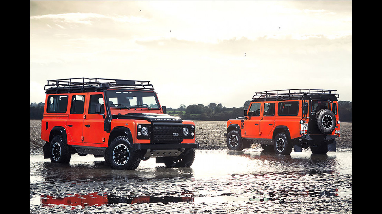 Land Rover Defender Adventure