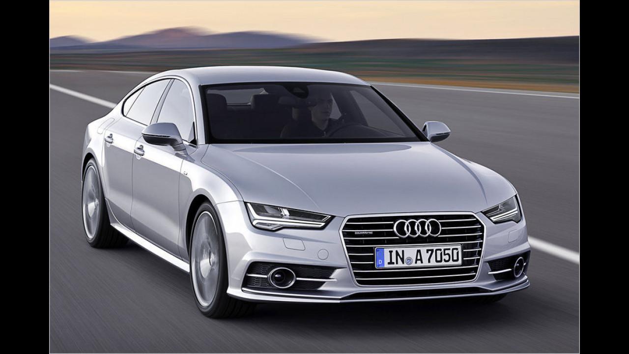 Oberklasse, Platz 3: Audi A7 (1.279 Stück)