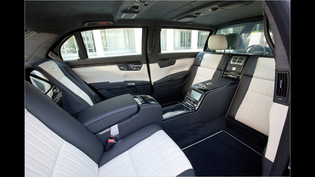 Mercedes S 600 Pullman (2009)