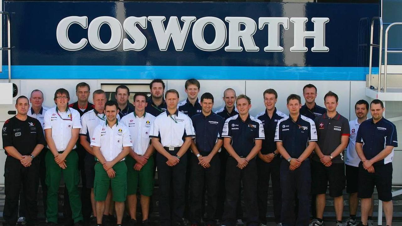 The Cosworth Engineering Team, Turkish Grand Prix, 27.05.2010 Istanbul, Turkey