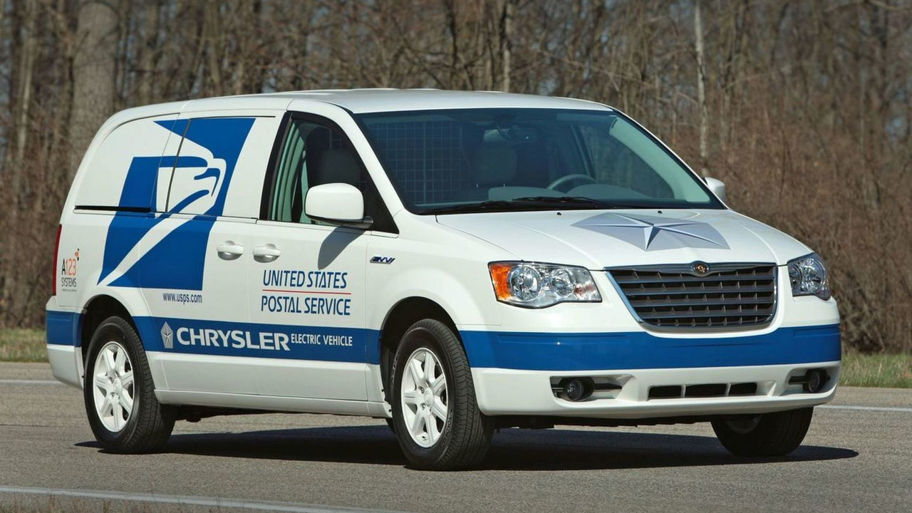Chrysler LHD Minivan EV for USPO