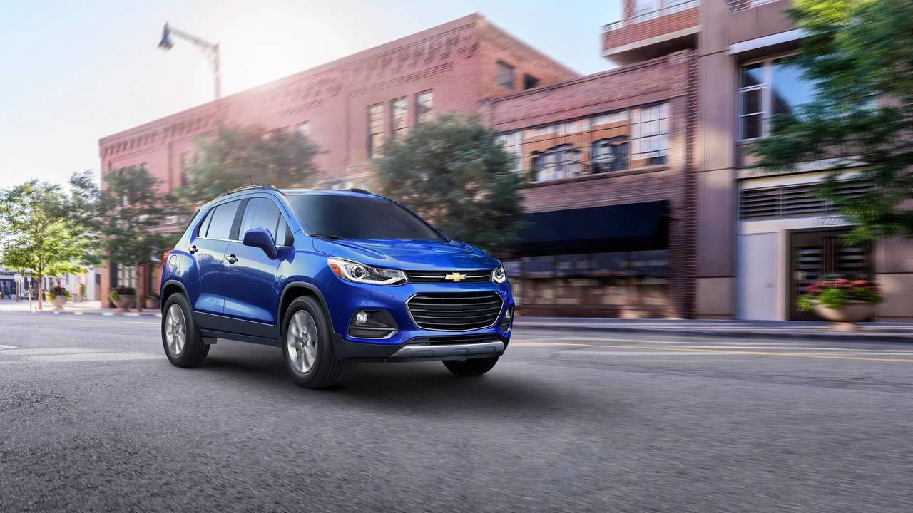 6. Chevrolet Trax: $159 A Month