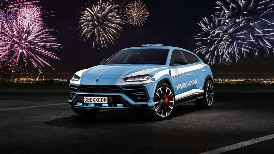 Lamborghini Urus Gets SV, Police Attire In The Virtual World