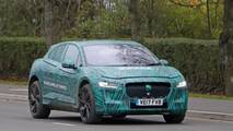 Jaguar I-Pace new spy photos