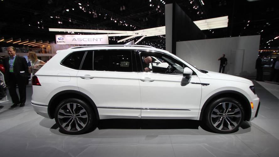 2018 Volkswagen Tiguan R-Line Appearance Package