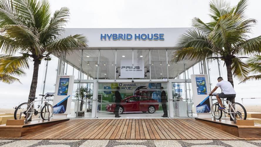 Toyota abre Hybrid House no Rio de Janeiro