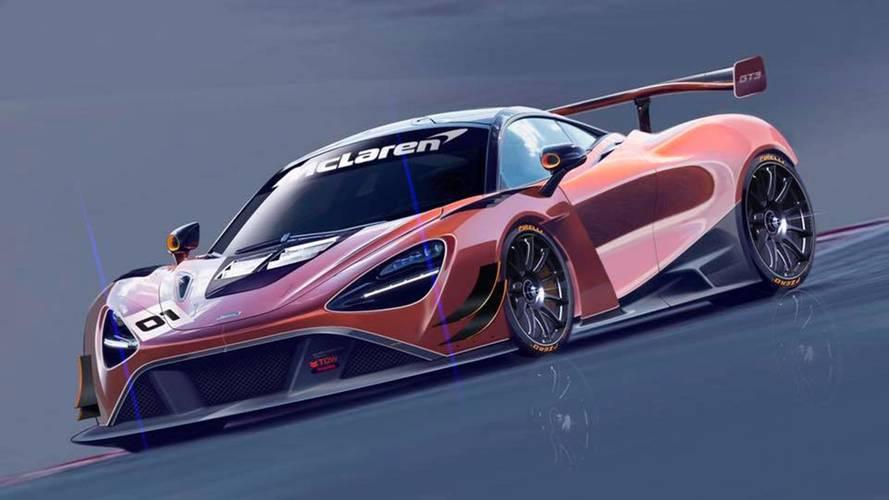 McLaren,720S'i GT3 versiyonu ile piste hazır hale getirecek