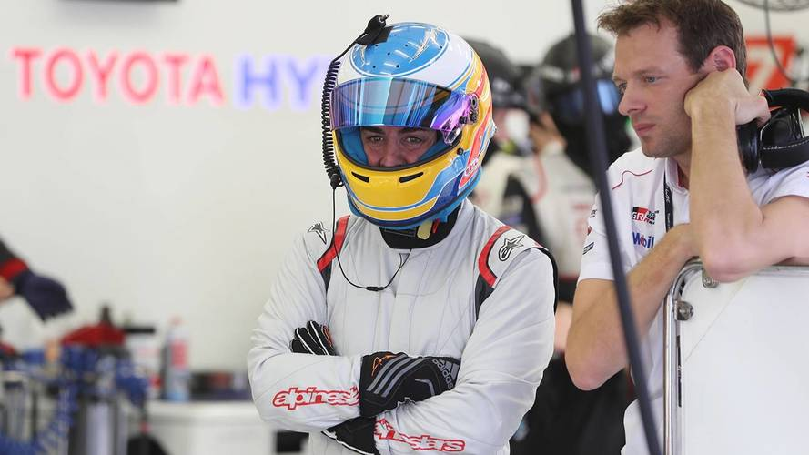 Alonso completes over 100 laps in Toyota LMP1 test
