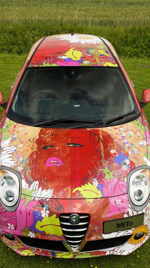 Alfa Romeo MiTo gets the art car treatment