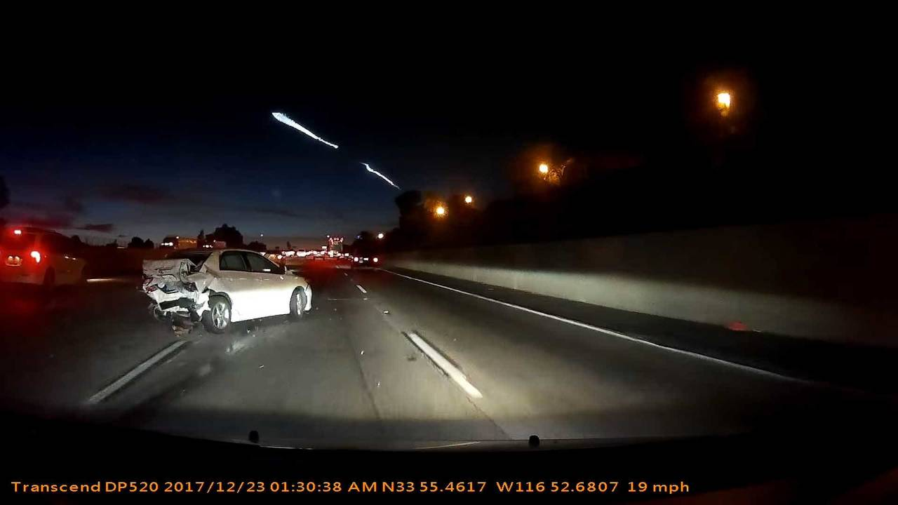 SpaceX Toyota Corolla Crash