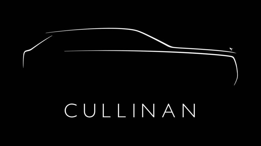 Rolls-Royce Cullinan ismi doğrulandı