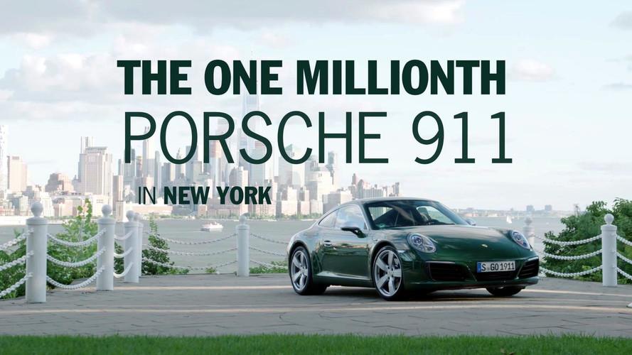 1 milyonuncu Porsche 911 bu sefer de New York'ta