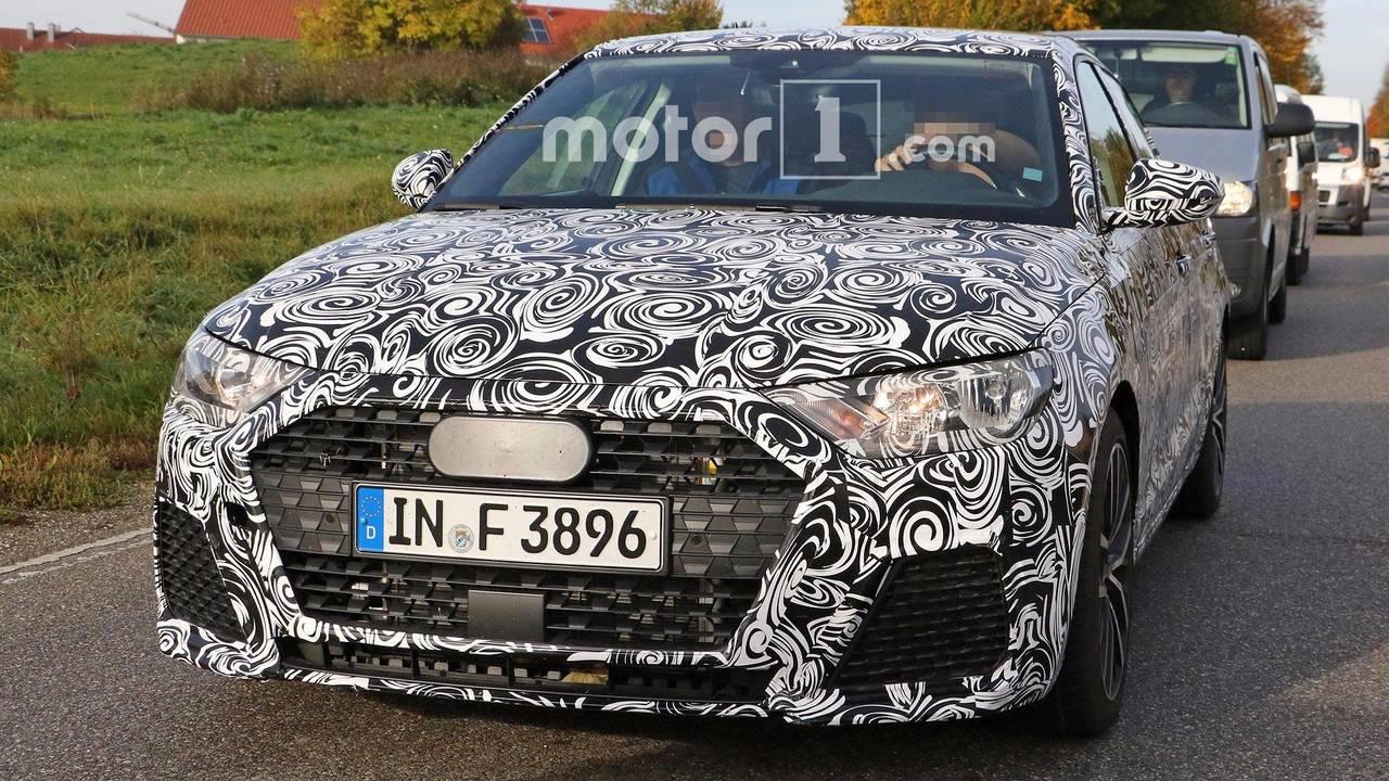 Audi A1 casus fotoğrafları