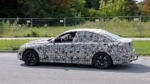 BMW 3 Serisi iç mekan casus fotoları