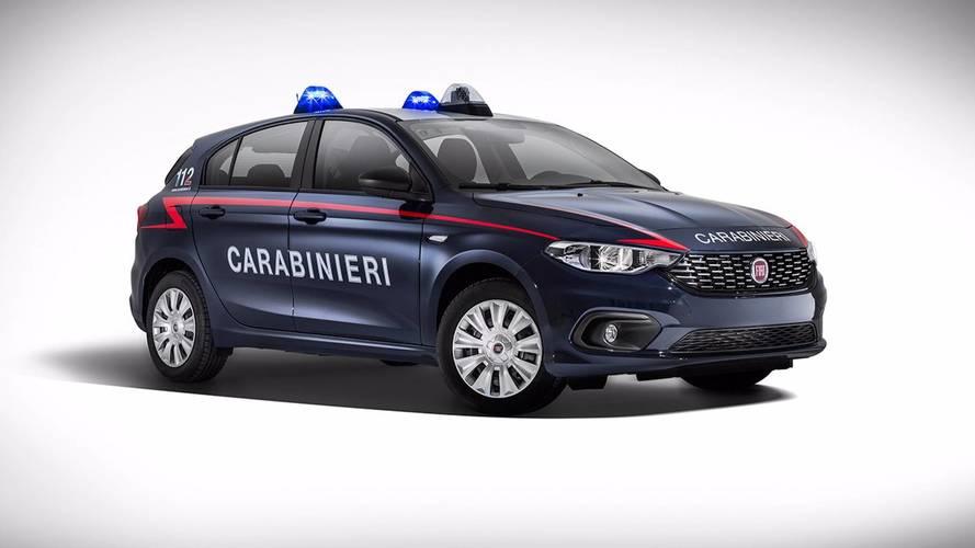 La Fiat Tipo rejoint la gendarmerie italienne