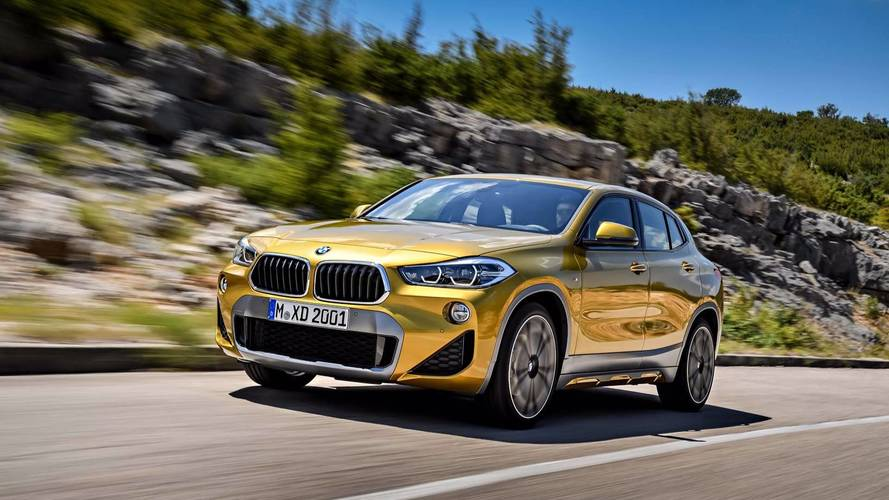 Le BMW X2 propose trois variantes