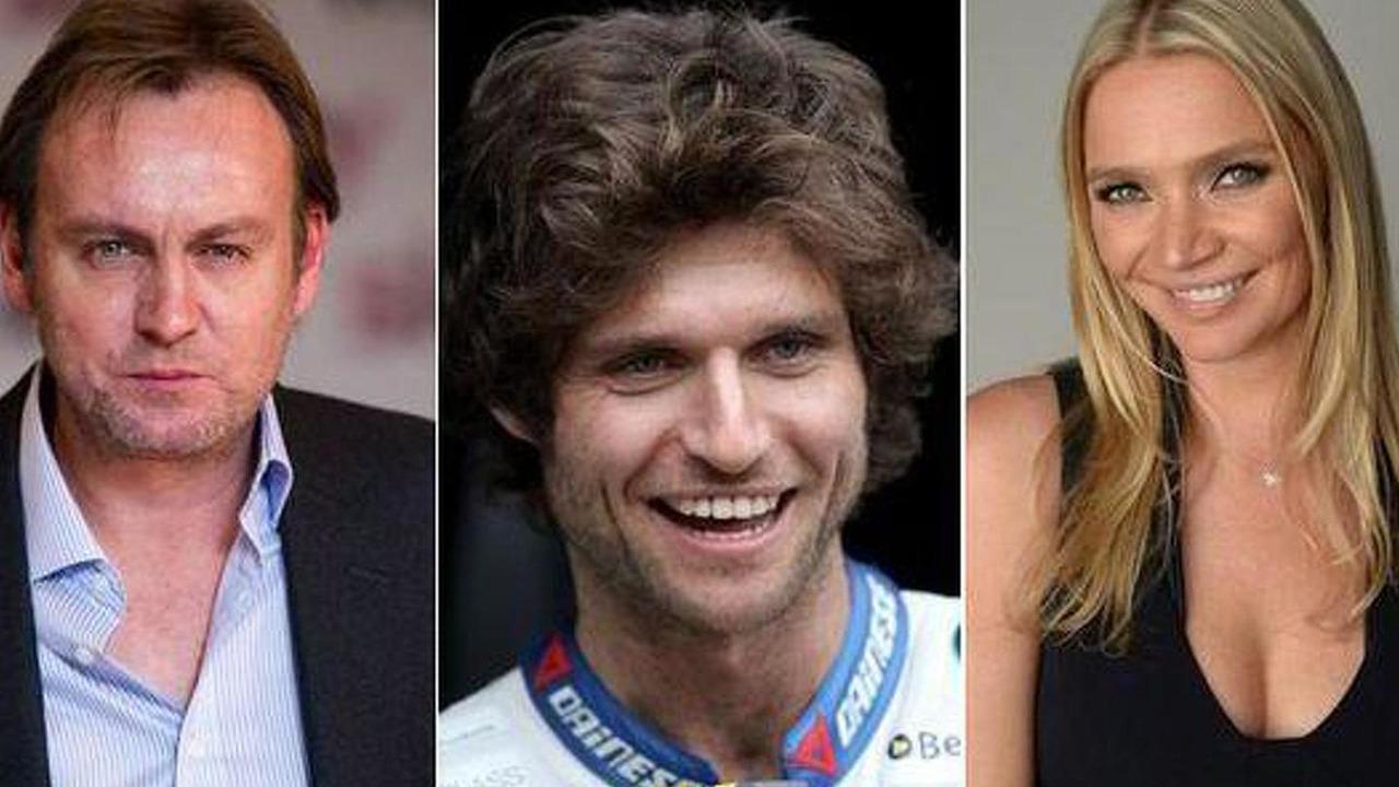 Philip Glenister, Guy Martin, Jodie Kidd