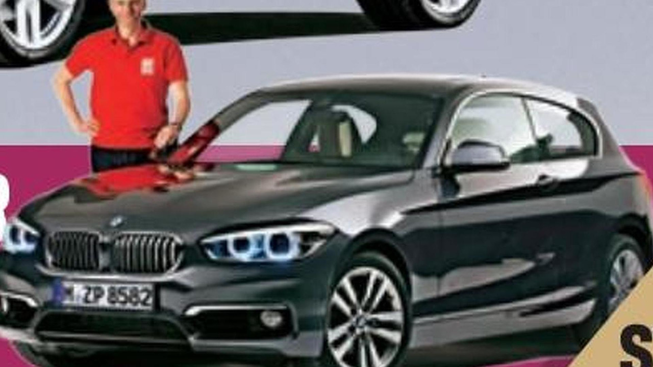 BMW 1-Series facelift (not confirmed)