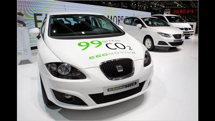 Seat León Ecomotive Concept: Sauber-Löwe steht in Genf