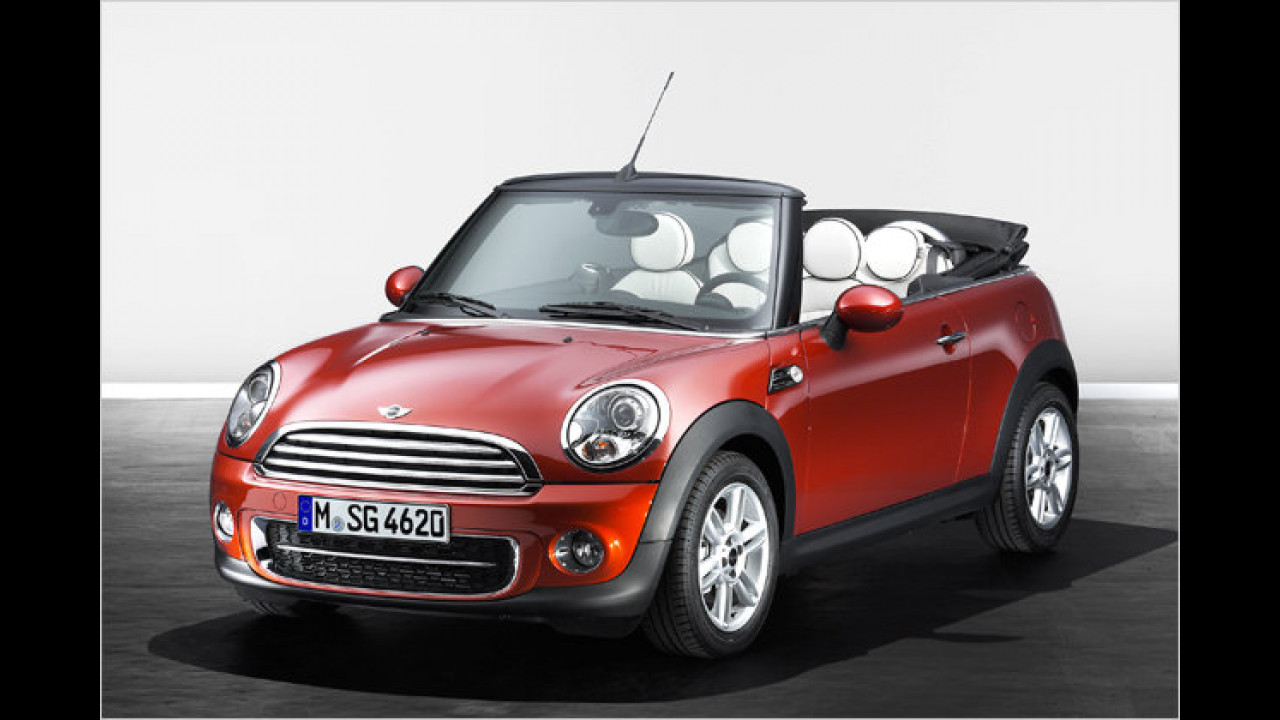 Mini One Cabrio Minimalism Pack