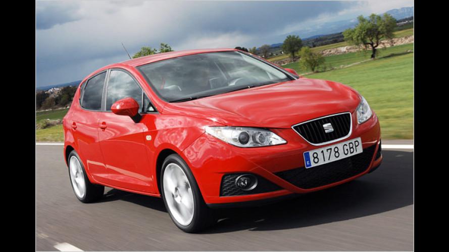 1.6 TDI mit 105 PS jetzt auch bei Seat: Diesel-Ibiza sparsamer