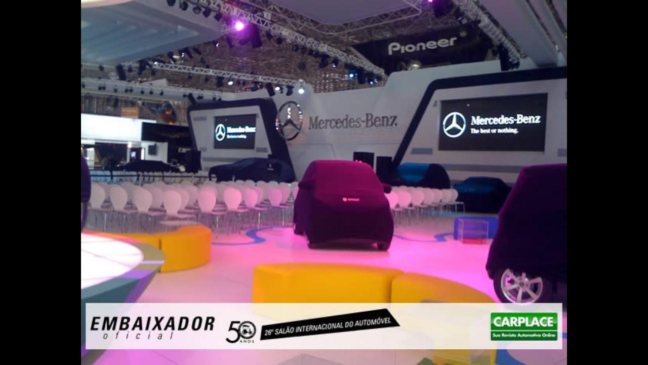 Bastidores: Mercedes-Benz no Salão do Automóvel