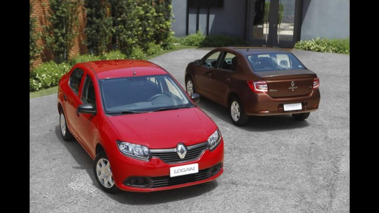 Renault atinge 7% de participação no 2º semestre - novo Logan é aposta para crescimento