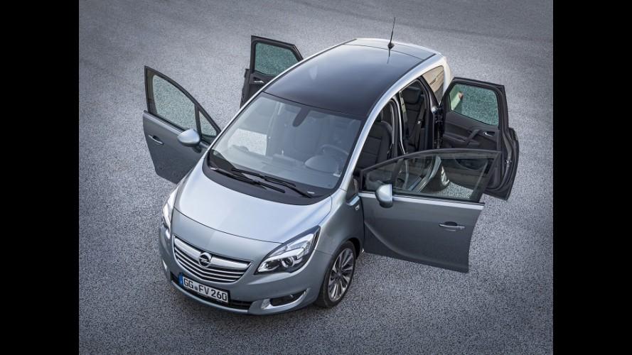 Vídeo: Opel mostra detalhes da renovada Meriva 2014