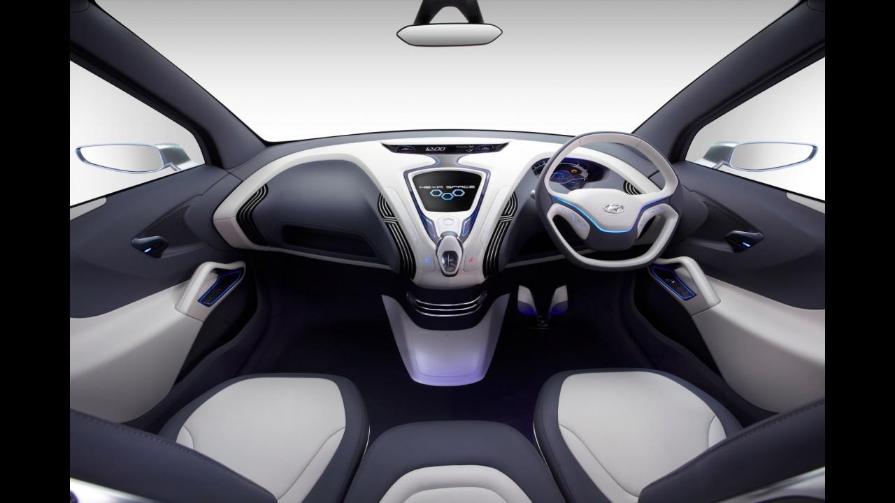 Salão de Nova Déli: Hyundai adianta primeiras imagens da minivan Hexa Space Concept