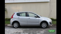 Garagem CARPLACE: Detalhes do visual externo do Fiat Palio Attractive 1.0 Flex
