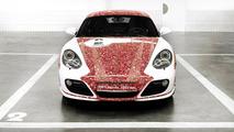 Porsche unveils Facebook-themed Cayman S