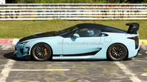 Beefy Lexus LFA prototype caught on Nurburgring [video]
