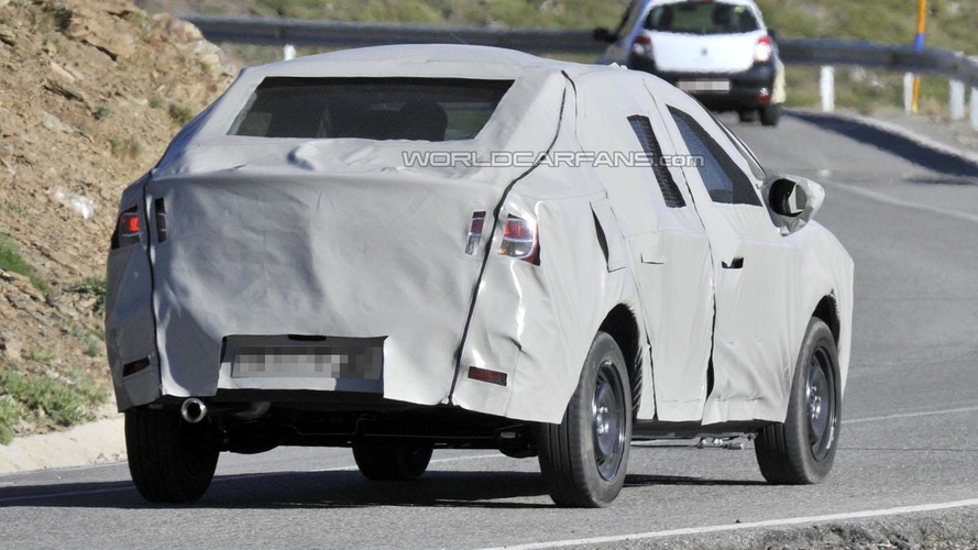 Next-generation Dacia Logan spied [video]