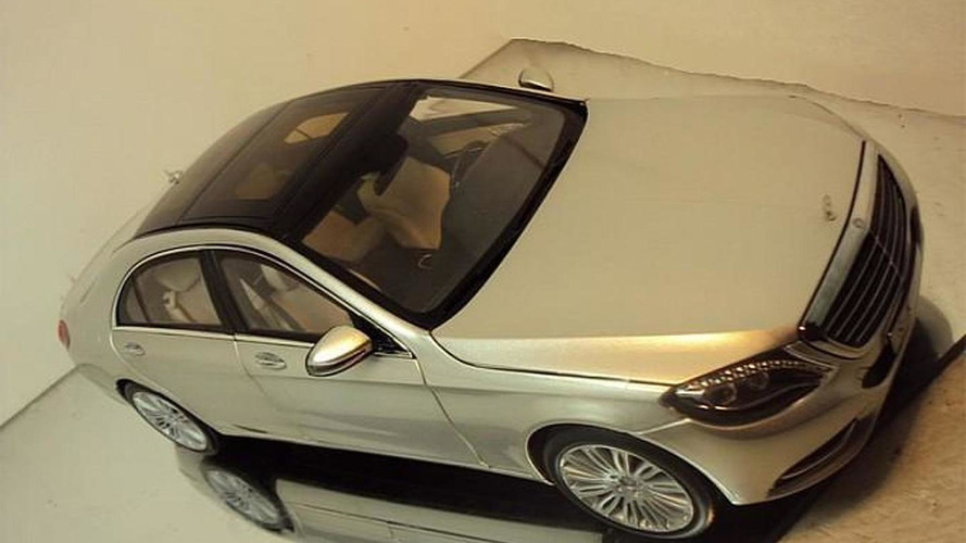 2014 Mercedes-Benz S-Class scale model shows what to expect