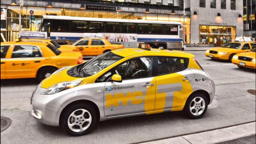 Per il sindaco di New York Nissan Leaf è il