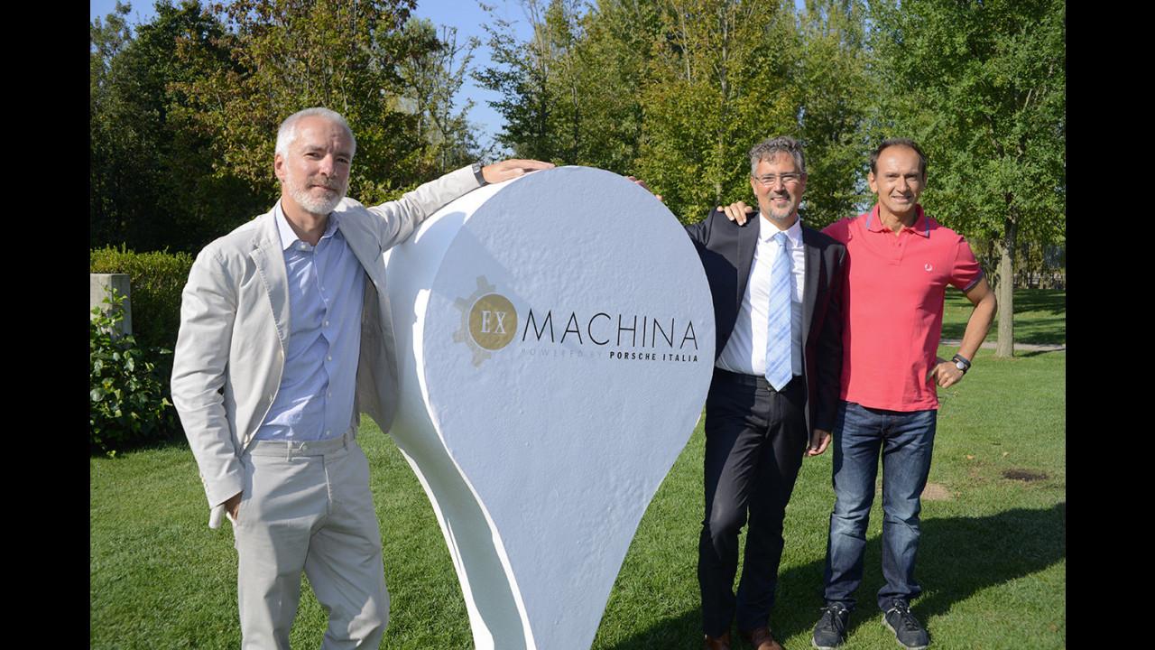 La presentazione di Ex Machina in H-FARM