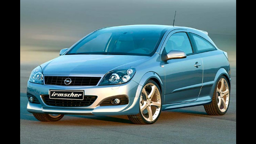 Astra GTC noch sportlicher: Irmscher legt Hand an Opel