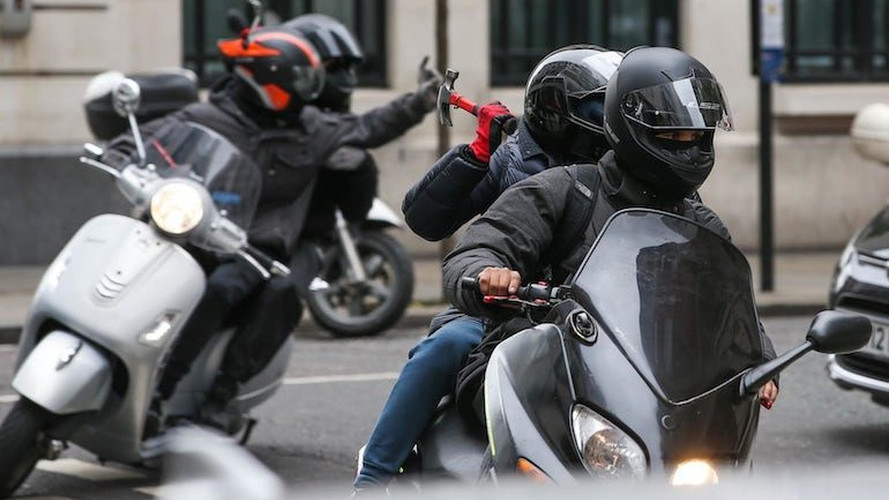Oxford Street is worst for moped-enabled thefts, report claims