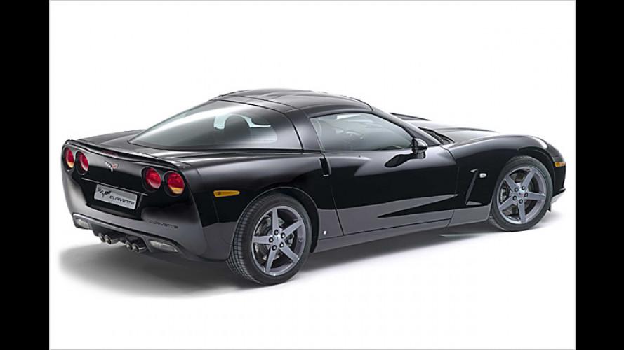 Siegerehrung der besonderen Art: Corvette Victory Edition