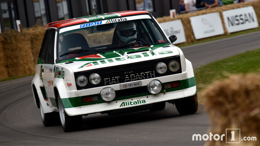 ¡Conducimos un Fiat Abarth 131 de rallies en Goodwood!