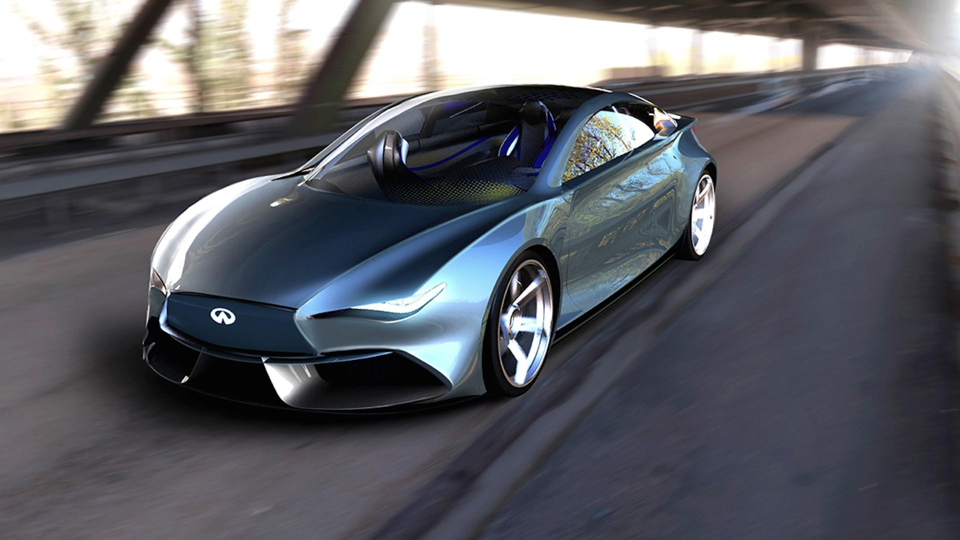Q50 For Sale >> Infiniti Q50 EV Rendering Proposes An Attractive Tesla Competitor